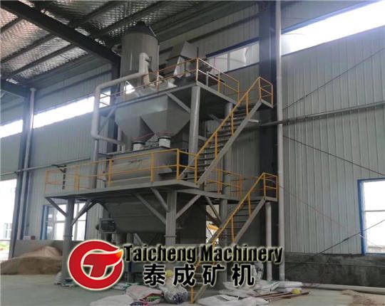 Auto Dry mortar mixing line